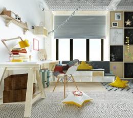 7个多彩有趣的儿童房设计