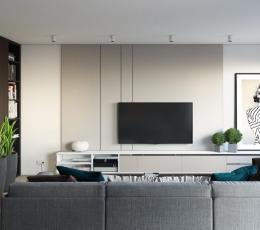 温馨优雅的一居室小户型装饰设计