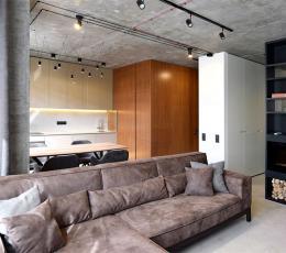 基辅50平米精致小公寓装饰设计