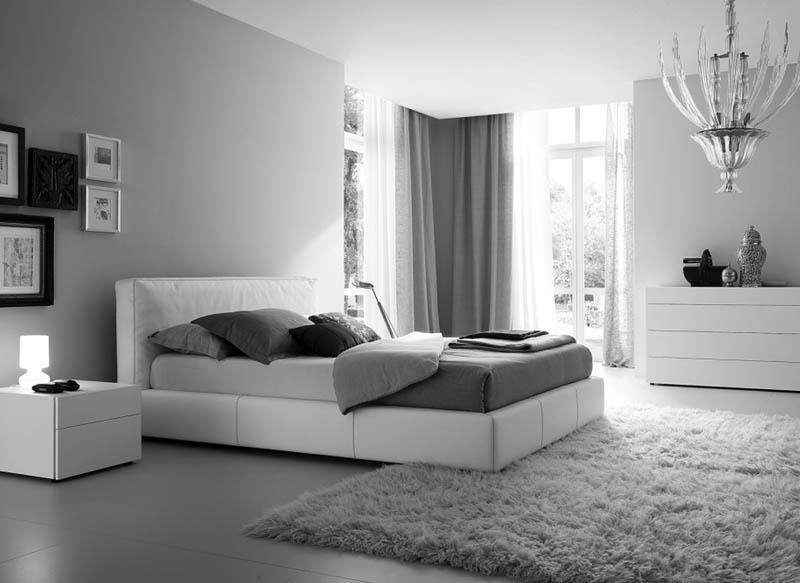 如何用灰色地毯在卧室里完成搭配装饰