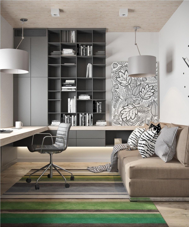 家庭办公室设计技巧创造一个功能和实用的工作空间