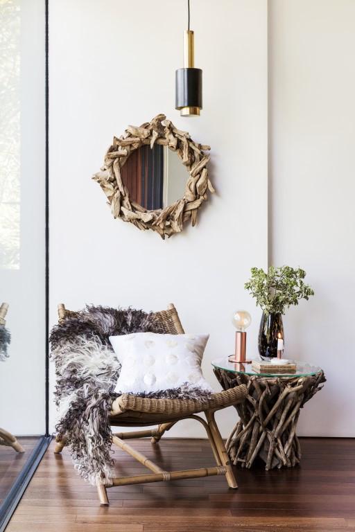 如何将其自然风格的室内设计融入到你的家中