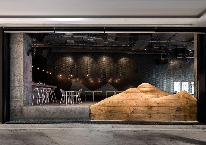 木材在装修中还可以这么玩用来制造地形,风景或家具设计