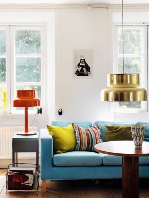 多彩的家居设计世纪中期现代家具搭配