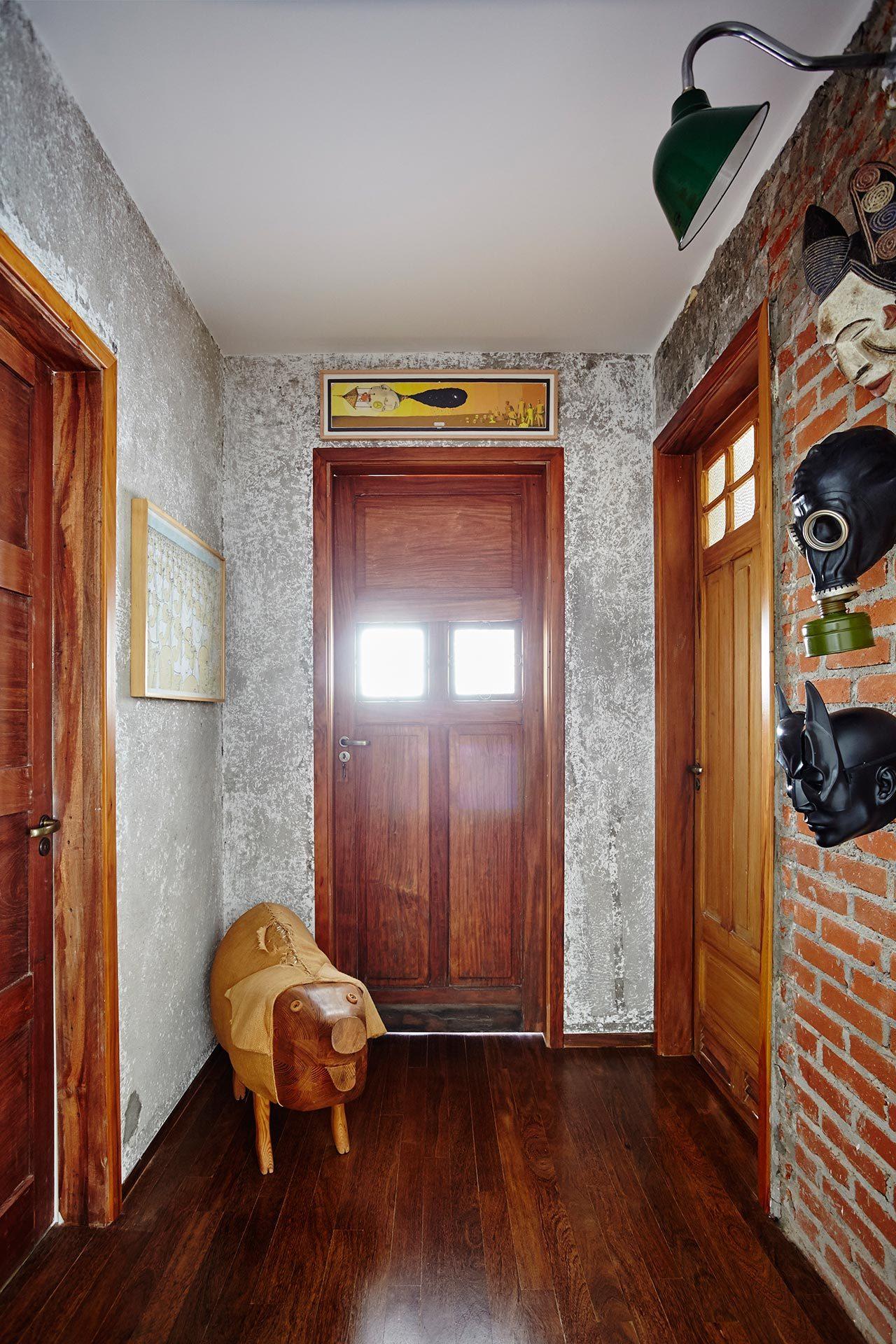 中世纪的现代主义公寓波希米亚风格反映业主的个性和审美