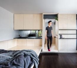 一个人需要多大的地方这个28平方米的小型公寓可以满足你的日常所需