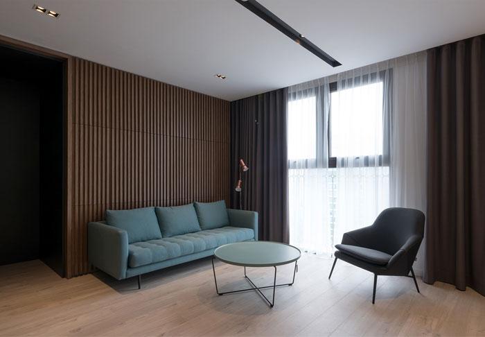 越南河内现代简约的住宅装饰设计