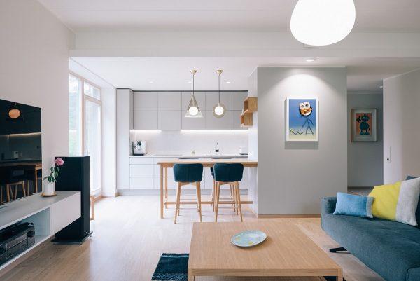 爱沙尼亚极简现代的住宅空间设计