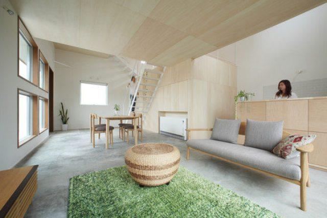 一个独特的空间像室外一样感觉的室内空间感受室外的自由