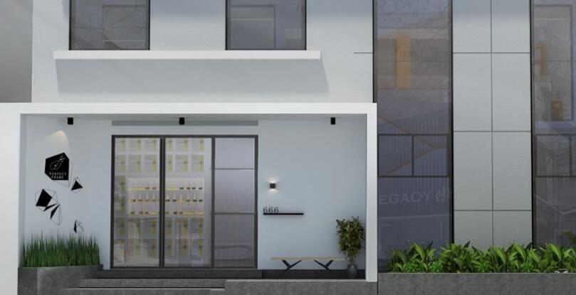 百叶窗创意空间设计