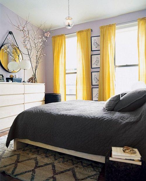 简单的方法为卧室添加黄色可以为室内装饰增添一丝阳光