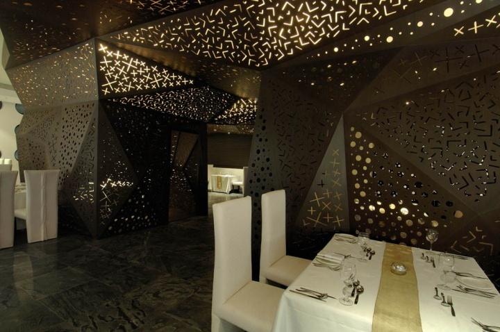 印度异域特征Chrome商务酒店设计赏识