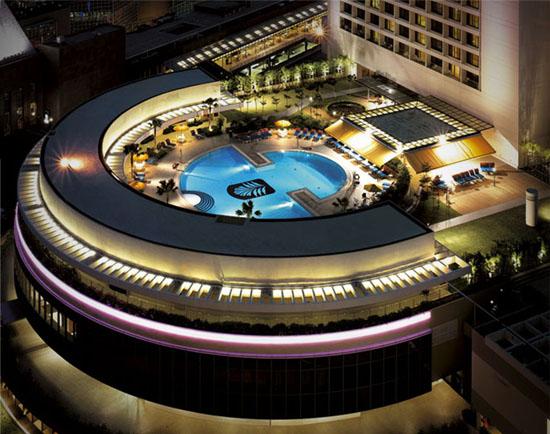 最具特征的新加坡高级商务酒店设计赏识