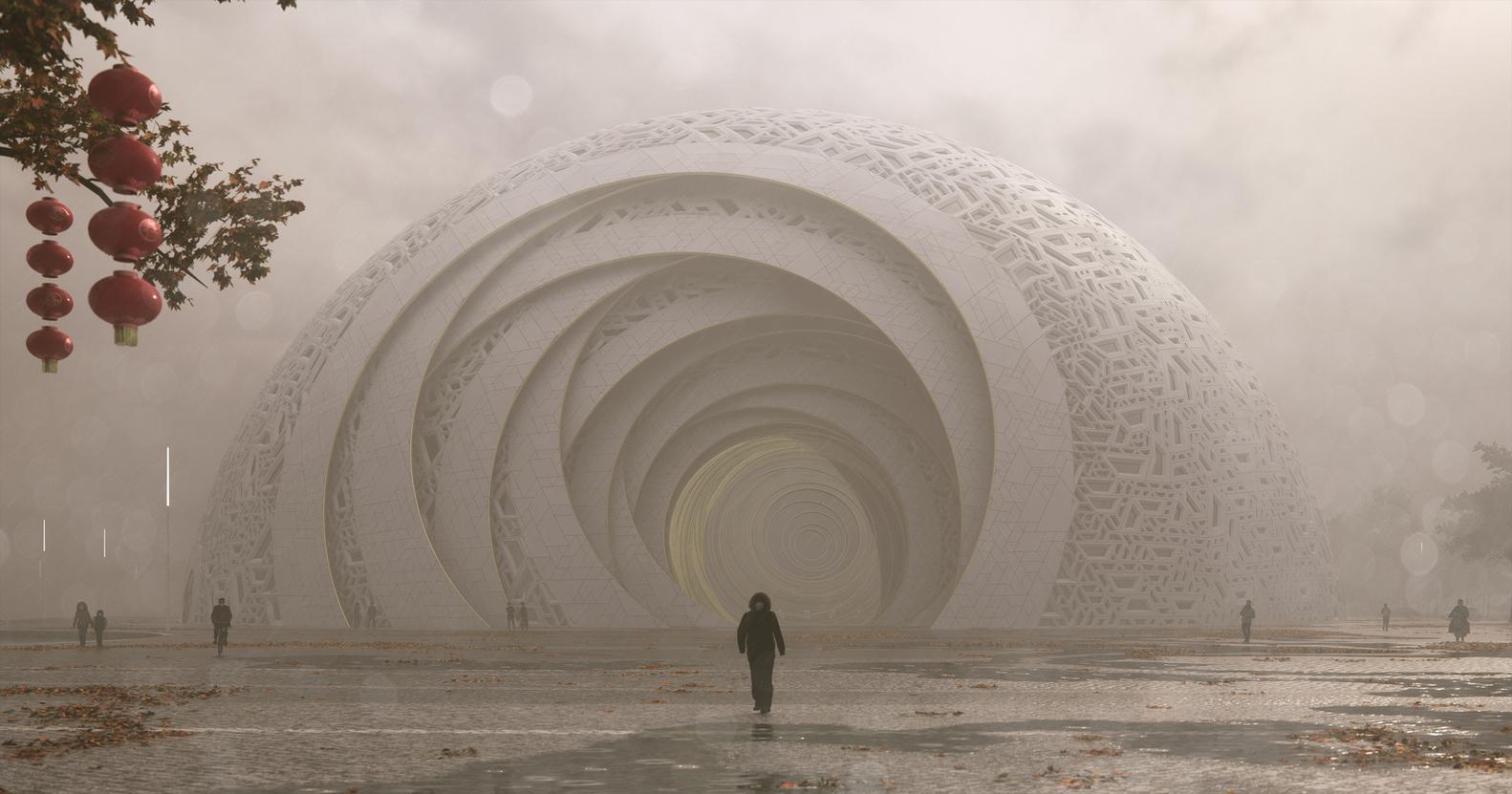 广州万达花都剧院建筑设计
