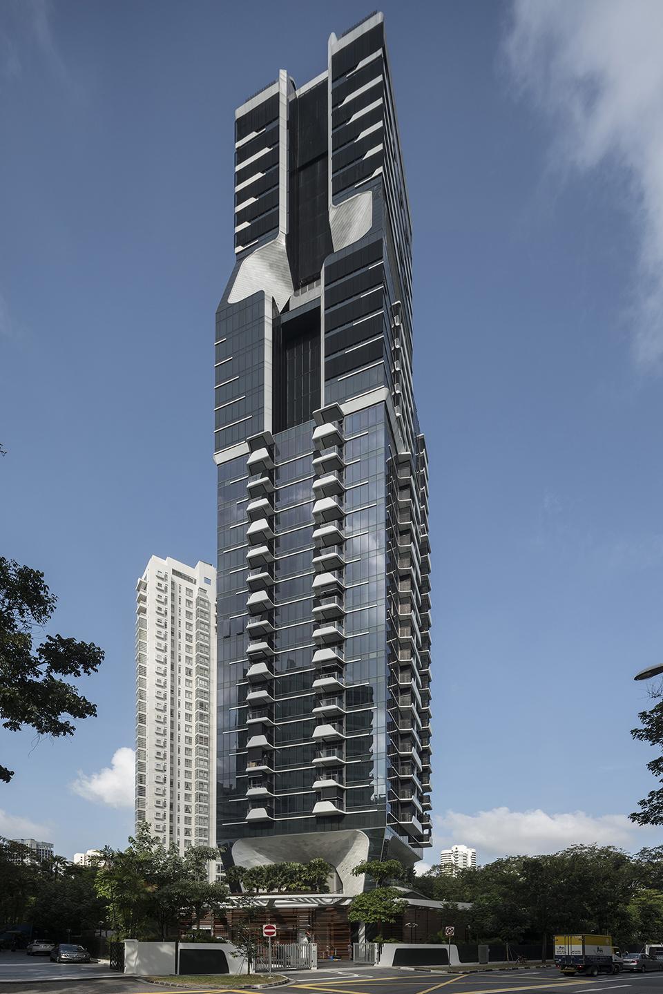 新加坡Scotts大楼建筑设计
