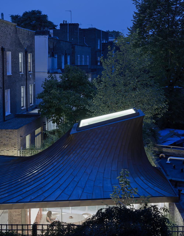 伦敦隐秘的花园住所建筑设计