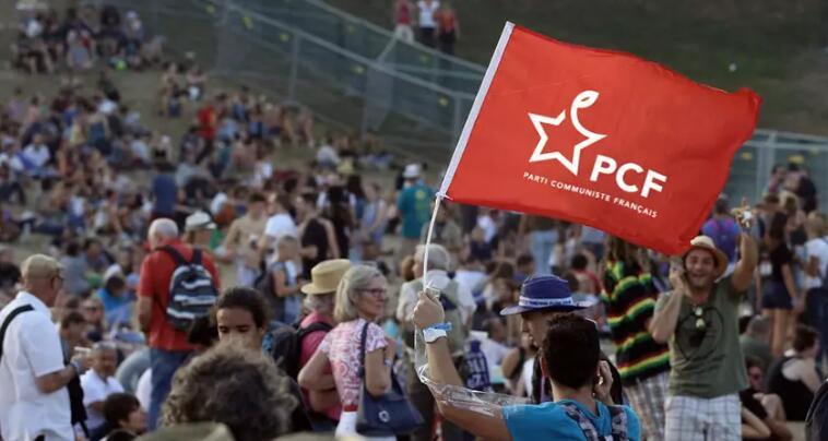 法国共产党(PCF)启用新logo