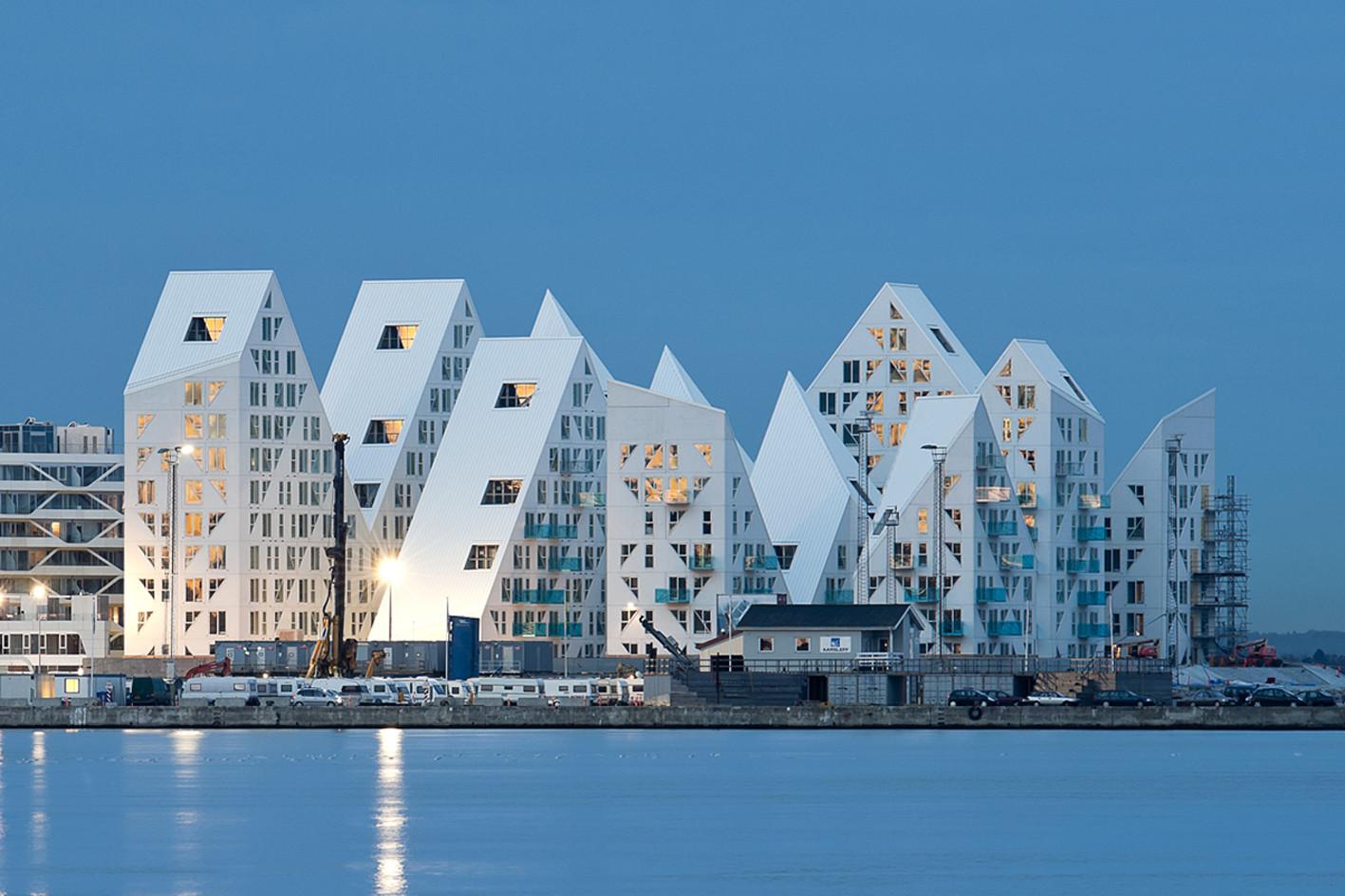 丹麦冰山公寓建筑设计