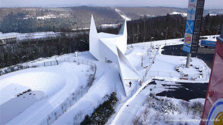 德国西格兰白色乡村教堂建筑设计