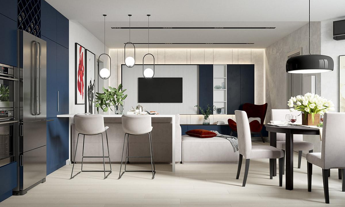 Doen和8217的现代室内设计