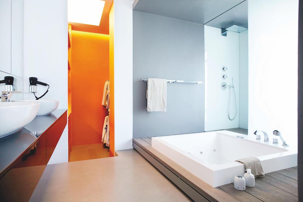 室内设计中使用橙色的7种方法