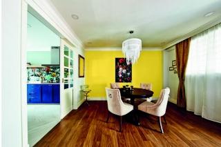 室内设计中的黄色:10家新加坡住宅