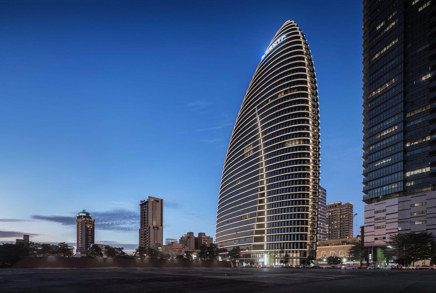 台湾NTC商贸中心建筑设计