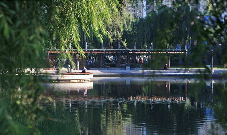 太原龙潭公园栖凤湖改造景观设计