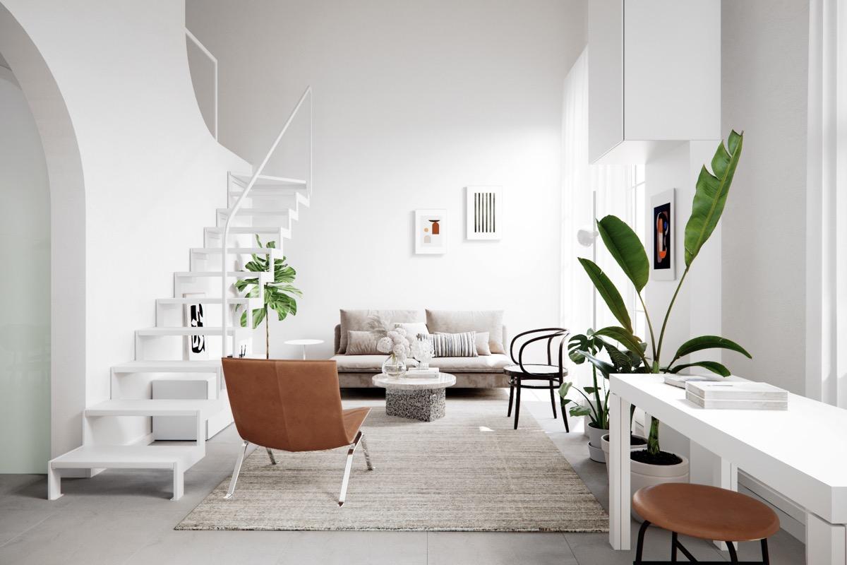 现代斯堪的纳维亚设计简约中展现美的三套房子