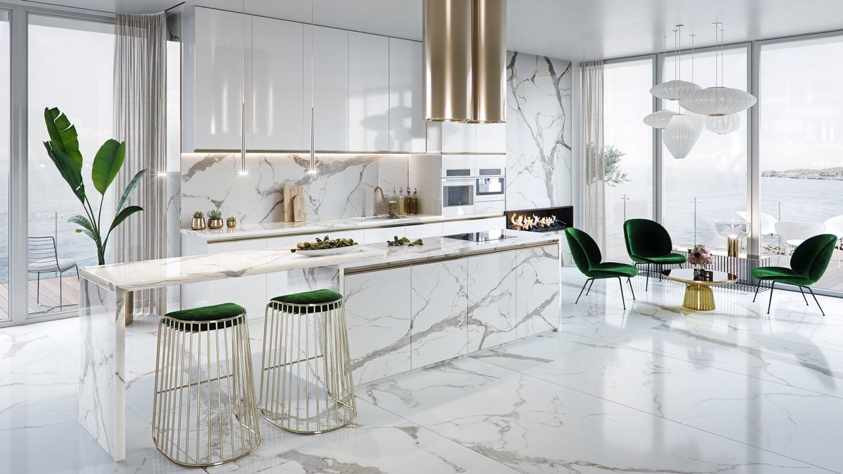 51豪华厨房及小贴士,帮助您设计和装饰您的厨房