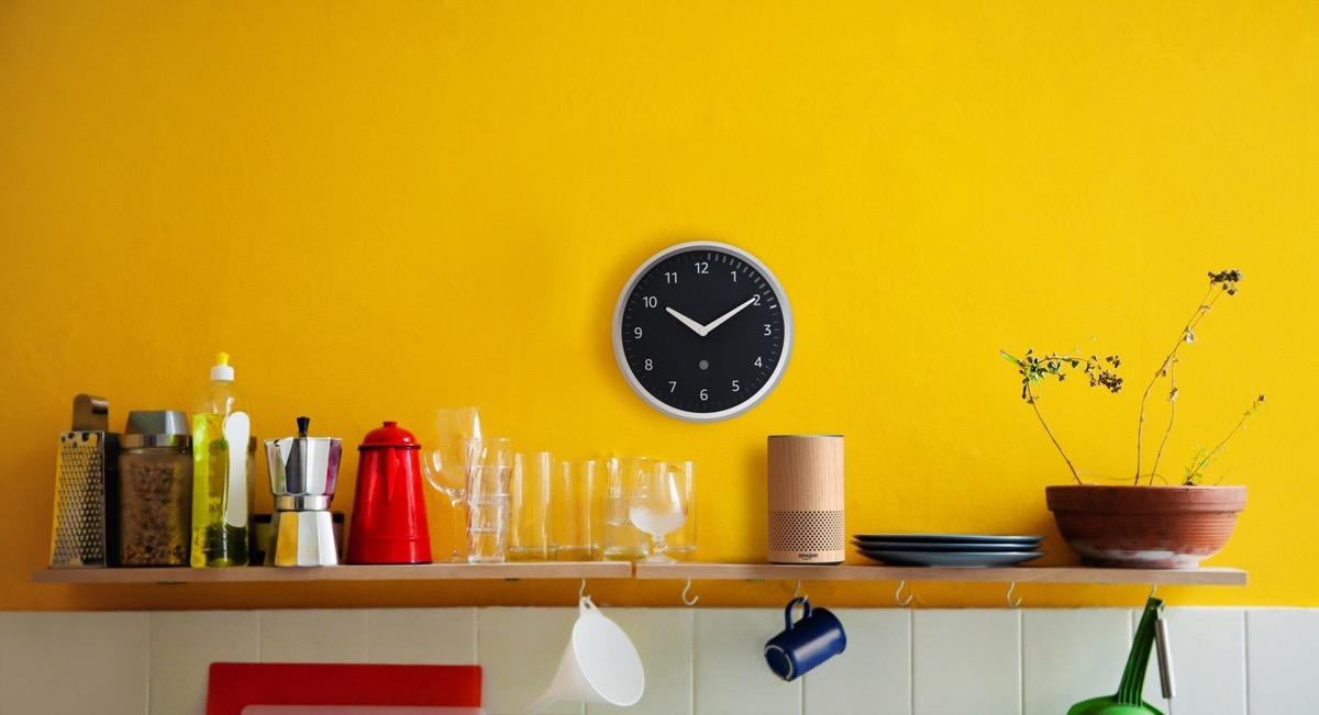 本周产品:带有定时器的亚马逊回声壁钟