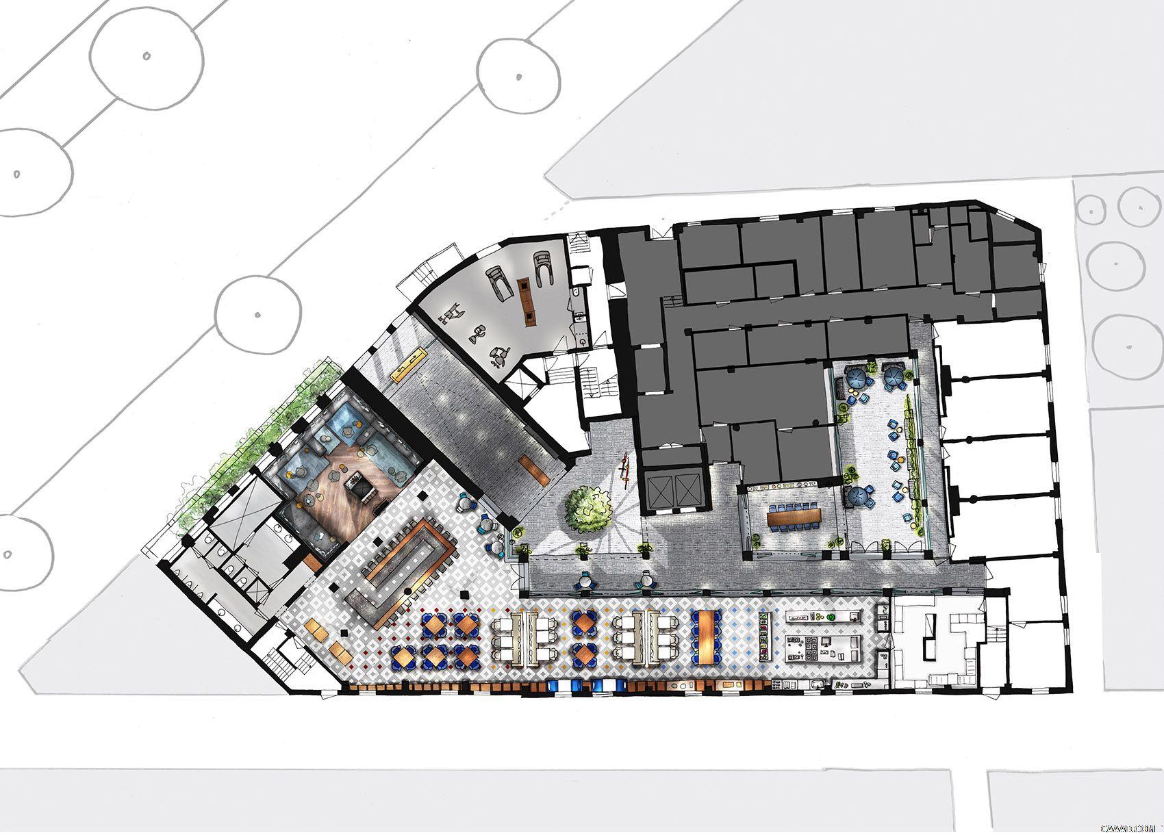 一个成功的酒店装修设计方案对于一家酒店有着十分重要的联系