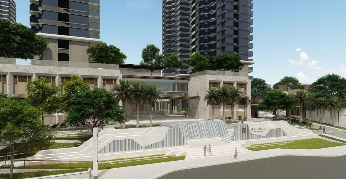中山德商樾玺住宅景观设计