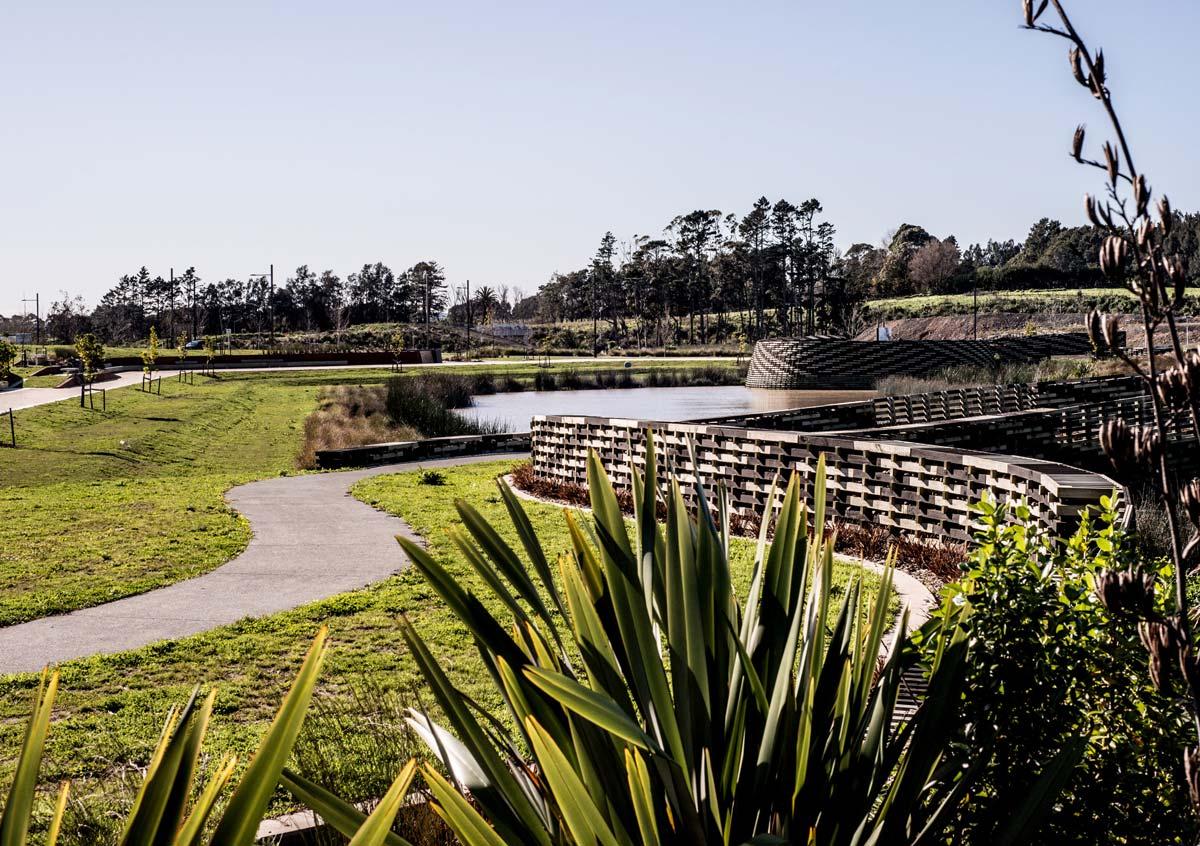 新西兰Kopupaka公园景观设计