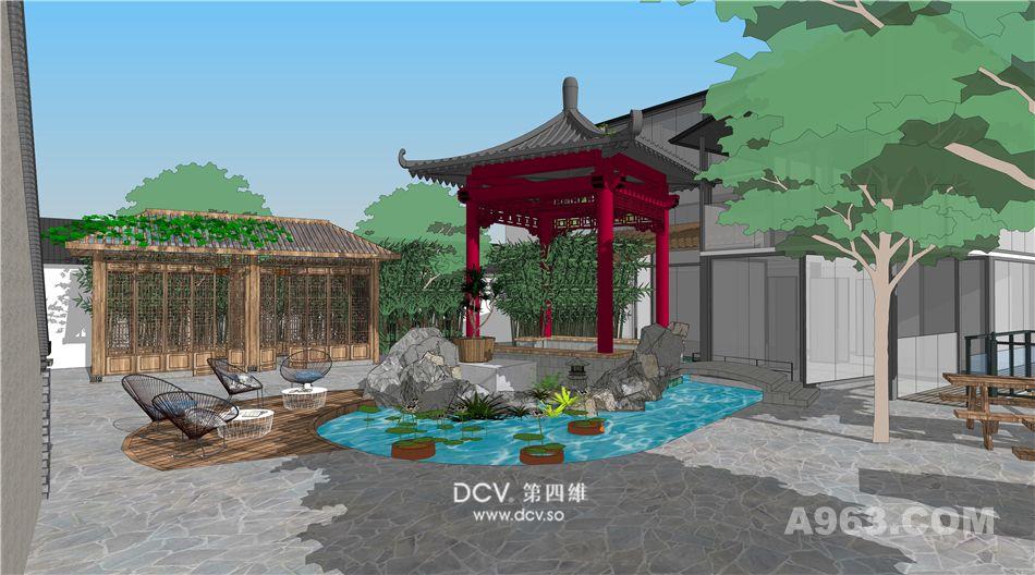 西安-尚塬民宿室内、软装、外观、园林景观全案设计(一期)