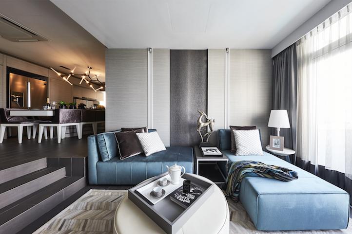 房屋之旅:中性色调和酒店风格的室内装饰完成了这套三居室的公寓。