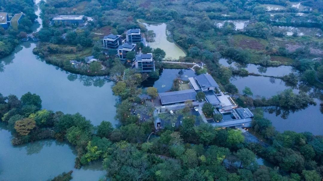 杭州木守西溪酒店景观设计