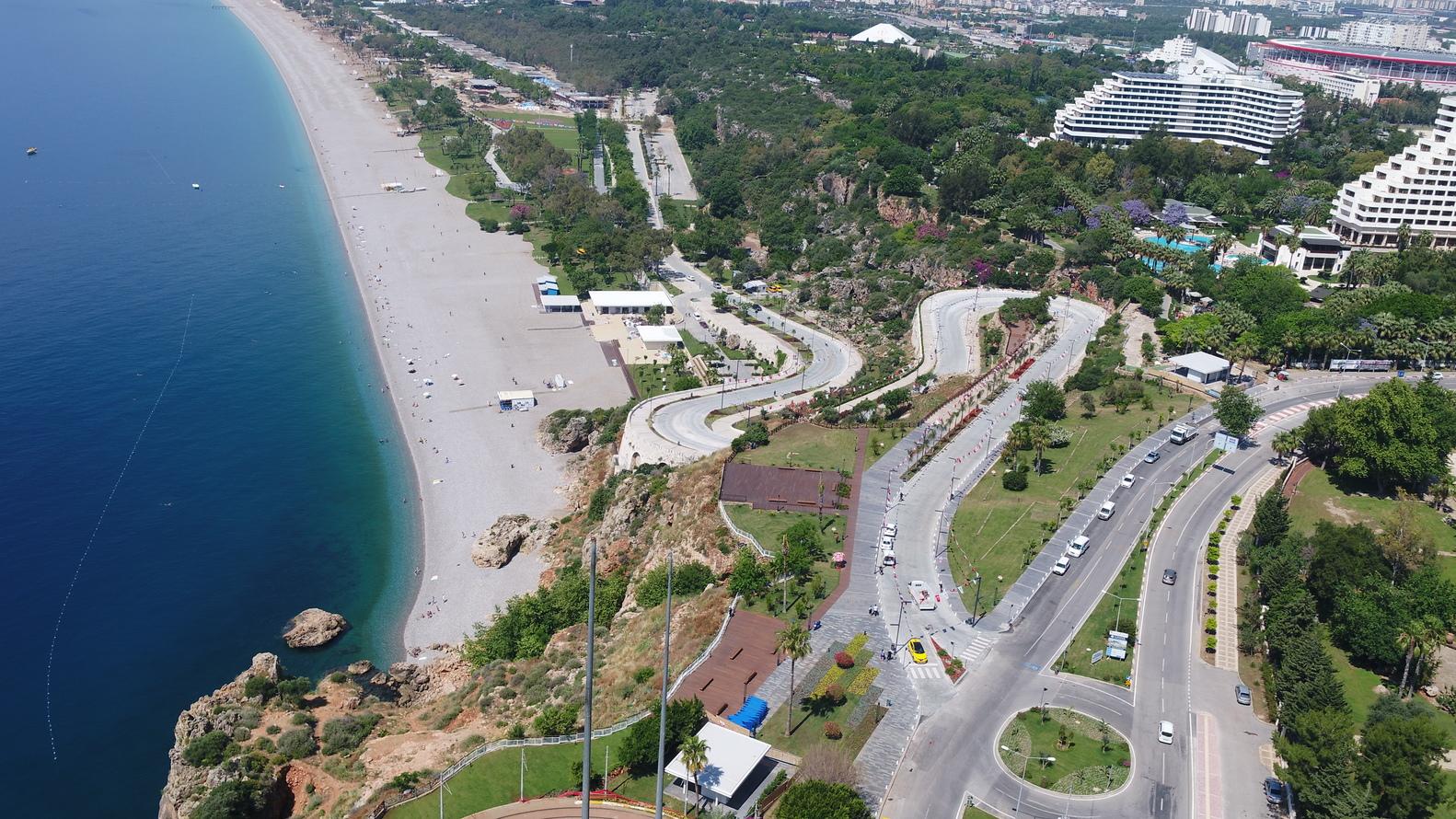 土耳其安塔利亚海岸线城市修复景观设计