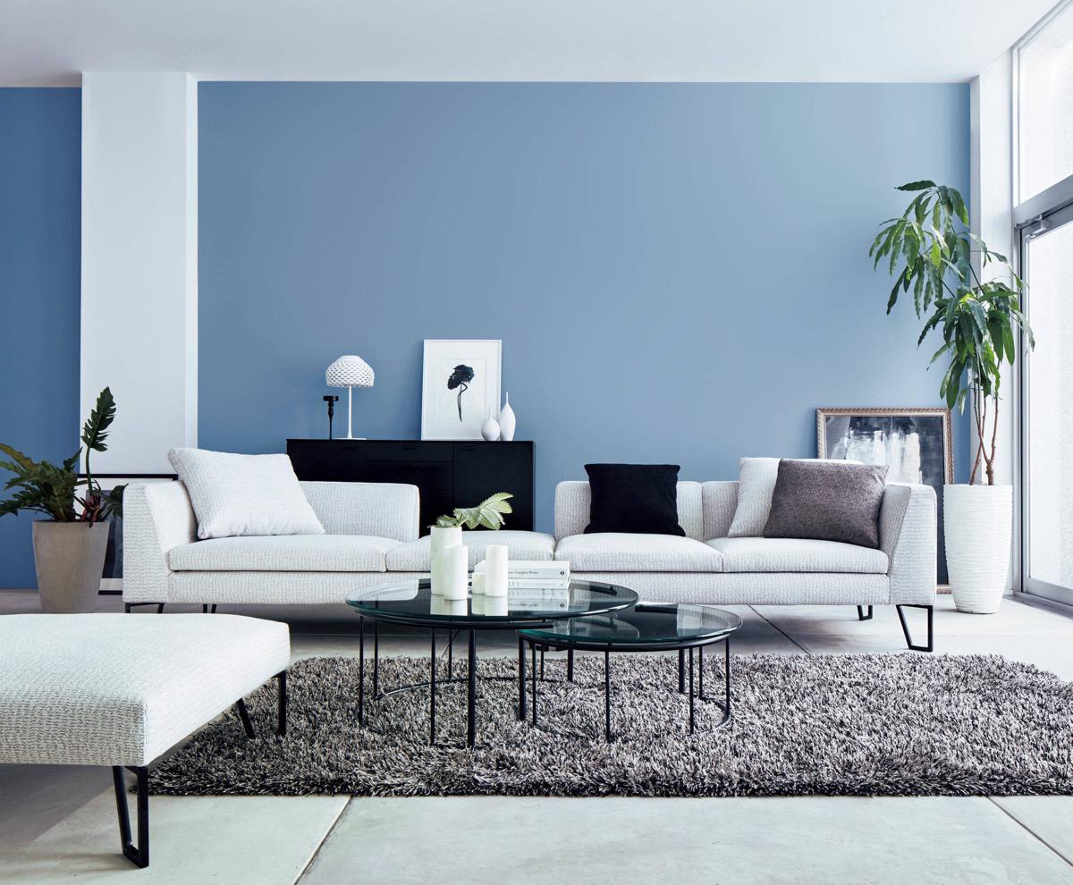 30间蓝色客厅,放松身心