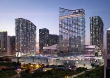 美国迈阿密Brickell中央广场景观设计 _ ArquitectonicaGEO