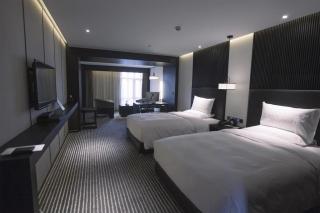 绵竹四星级酒店设计屏风运用
