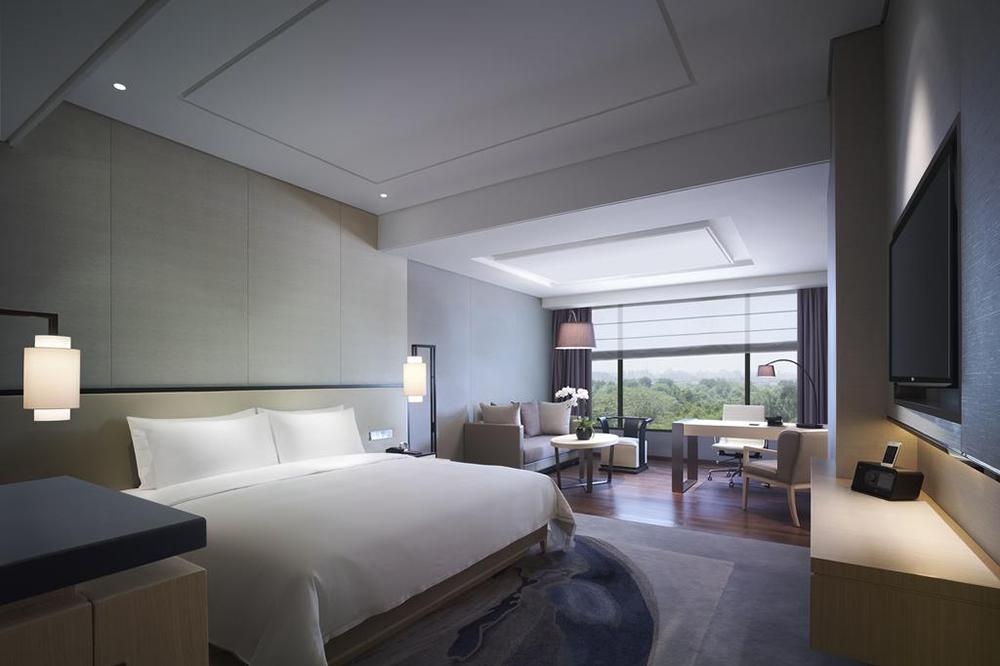 广安商务酒店设计大厅设计