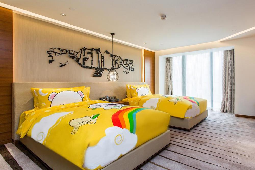银川主题酒店设计中的客房设计