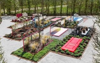 法国20道门花园景观设计