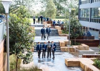 圣依纳爵学院特里庭院景观设计