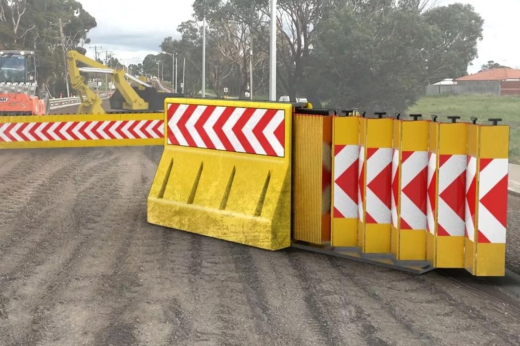 专为道路维护设计的易拉护栏