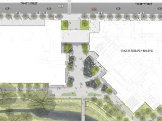 美国戴尔医学區景观设计