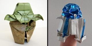 wow!超炫酷的《星球大战》折纸艺术