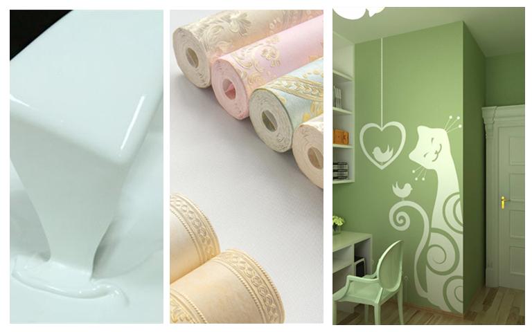 硬装设计之墙面设计(乳胶漆/壁纸&布还是硅藻泥?)