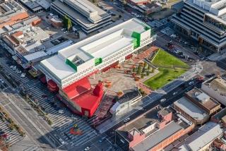 墨尔本丹德农市民广场景观设计